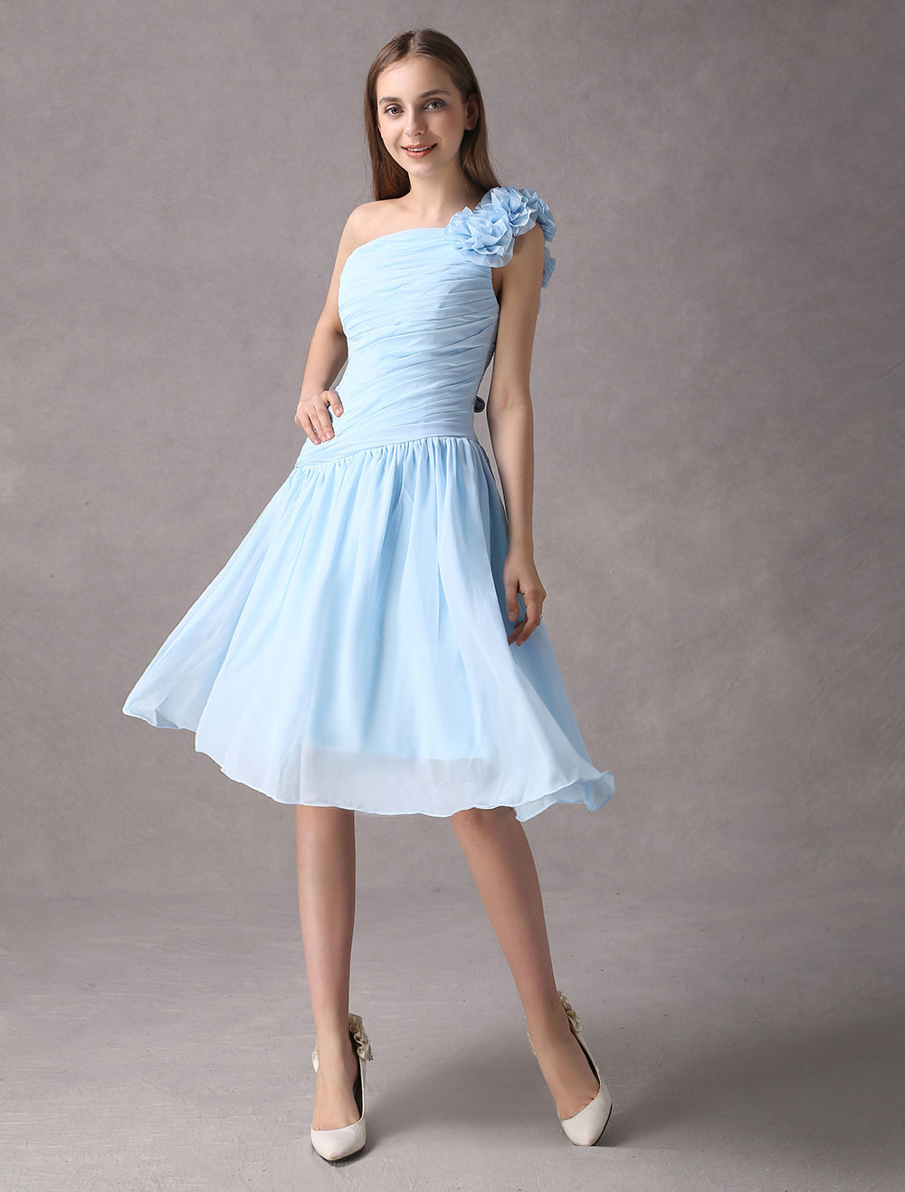 eb0ae5c9c7 Flor Vestidos De Damas De Honor - Dressinwedding.com